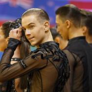 Фото причесок для мальчиков бальных танцев 9
